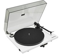 Platine vinyle Pro-Ject  Essential III blanche OM10 fr
