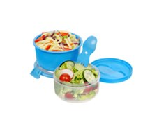 Lunch box Sistema  double compartiment avec cuichette
