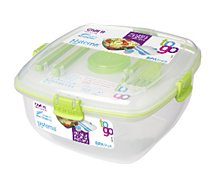 Lunch box Sistema  carrée à clips Chill It To Go 1.3 L