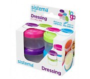 Sistema à sauce Dressing To Go X 4