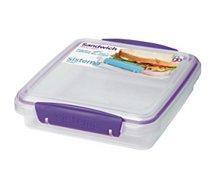 Lunch box Sistema  à sandwich a clips 450ml