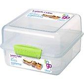 Boîte de conservation Sistema Lunch Cube à clips To Go 1.4 L