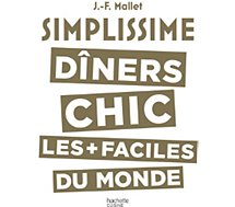 Livre de cuisine Hachette  Simplissime Les diners chics