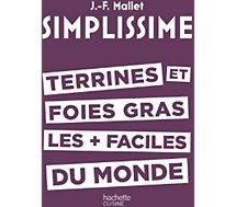 Livre de cuisine Hachette  Simplissime Terrines et foies gras
