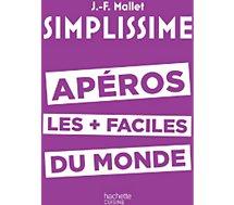 Livre recettes Hachette Simplissime Apéros