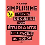 Livre de cuisine Hachette  Simplissime pour étudiants