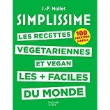 Livre de cuisine Hachette  Simplissime Recettes végétariennes/vegan