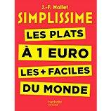 Livre de cuisine Hachette  Simplissime les plats à 1 euro