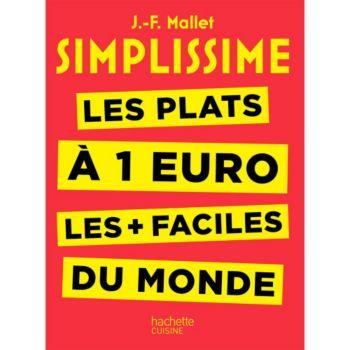Hachette Simplissime les plats à 1 euro
