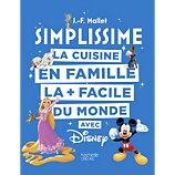 Livre de cuisine Hachette  Simplissime Disney