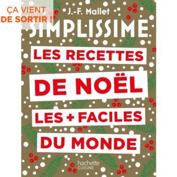 Hachette Simplissime recettes noel plus faci