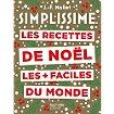 Livre de cuisine Hachette Simplissime recettes noel plus faci