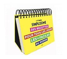 Livre de cuisine Hachette Simplissime 365 recettes