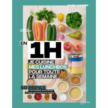 Hachette En 1h je cuisine mes lunchs box pour tou