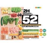 Livre de cuisine Hachette  En 2h je cuisine pour toute la semaine