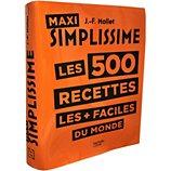 Livre de cuisine Hachette  Simplissime Les 500 recettes