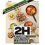 Livre de cuisine Hachette  En 2H je cuisine veggie pour toute