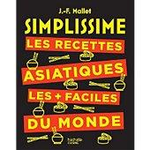Livre de cuisine Hachette Simplissime Les recettes asiatiques