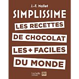 Livre de cuisine Hachette  Simplissime Les recettes de chocolat
