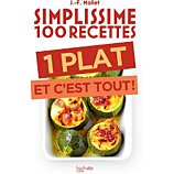 Livre de cuisine Hachette  Simplissime 100 recettes  1 plat et
