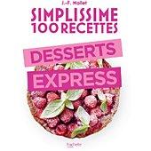 Livre de cuisine Hachette Simplissime 100 recettes desserts e
