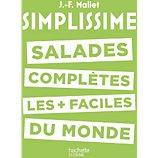 Livre de cuisine Hachette  Simplissime Salades complètes