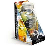 Coffret Larousse Fontaine à cocktails XXL 4.5L + recettes