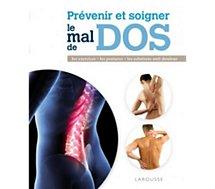 Livre Hachette  Prévenir et soigner le mal de dos