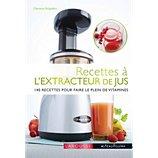 Livre de cuisine Larousse Recettes à l'extracteur de jus