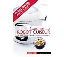 Livre recettes Larousse Cuisiner au robot cuiseur