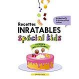 Livre de cuisine Larousse  Recettes inratables special kids