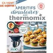 Livre de cuisine Larousse Aperitifs dinatoires avec Thermomix