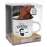 Coffret Larousse  Barber mug
