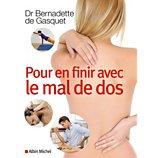 Livre de santé Hachette  Pour en finir avec le mal de dos