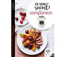 Livre de cuisine Larousse Ce soir on recoit avec Companion