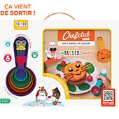 Coffret cuisine Chef Club On s'amuse en cuisine avec Les Tasses
