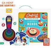 Coffret cuisine Chef Club Les Recettes du monde avec les Tasses