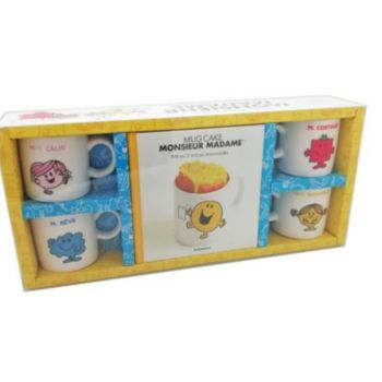 Marabout Mini mug cakes Monsieur Madame