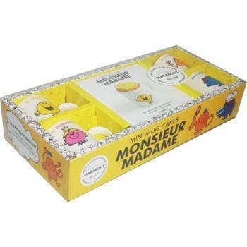 Marabout Mini-mug cakes Monsieur Madame
