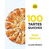 Livre de cuisine Marabout 100 quiches et tartes super debutan