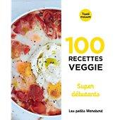 Livre de cuisine Marabout Recettes veggie super debutants