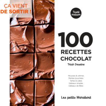 Marabout 100 recettes chocolat