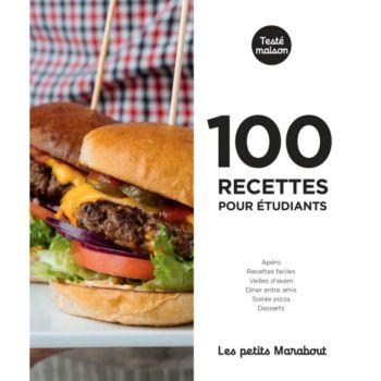 Marabout 100 recettes pour etudiants