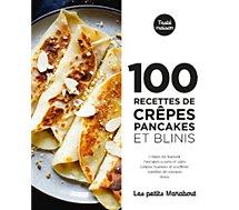 Livre de cuisine Marabout  100 recettes crepes pancakes et blinis