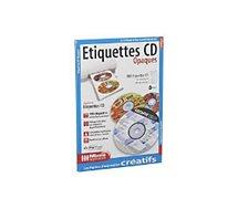 Papier créatif Micro Application  100 étiquettes CD