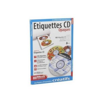 Micro Application 100 étiquettes CD