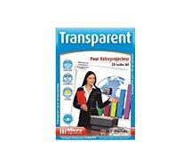 Papier créatif Micro Application  20f transparents retroprojecteur - A4