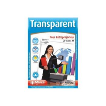 Micro Application 20f transparents retroprojecteur - A4