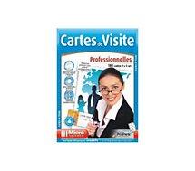 Papier créatif Micro Application 100 CARTES DE VISITES PRO