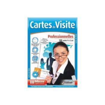 Micro Application 100 CARTES DE VISITES PRO